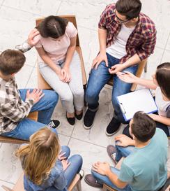 csoportos terápia, pszichológia